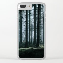 Mystery forest Clear iPhone Case