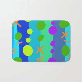Party Time / Blue Bath Mat