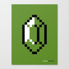 Mo Rupees Mo Problems (Green) Canvas Print