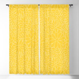 Wildflower Lines Blackout Curtain