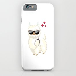 Doctor Llama Ain't Got Time For Your Drama Alpaca iPhone Case