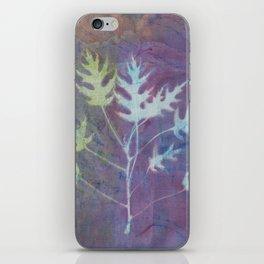 Cyanotype No. 7 iPhone Skin