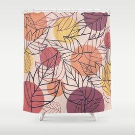 Autumn/fall pattern Shower Curtain