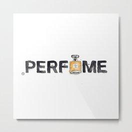 Favourite Things - Perfume Metal Print