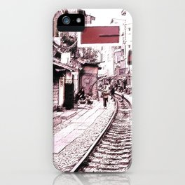 The train is coming soon.... iPhone Case