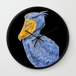 Shoebill Stork Wall Clock