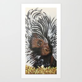 Porcupine by Noelle's Art Loft Art Print