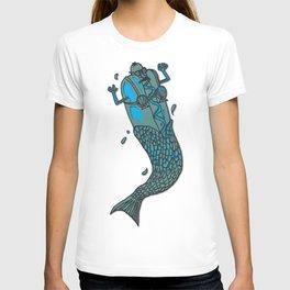 Hot Dog Mermaid! T-shirt
