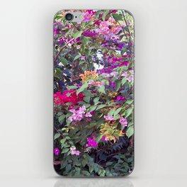 Bouganvilla iPhone Skin