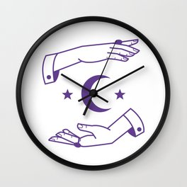 The Occultist Wall Clock