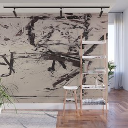 """""""Hectic"""" Wall Mural"""
