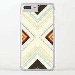 Scratch Harder Clear iPhone Case