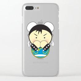 Chun Li Clear iPhone Case