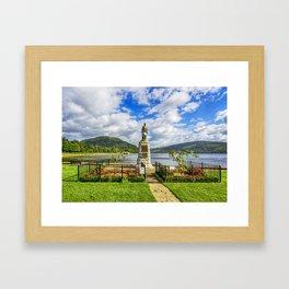 Inveraray War Memorial Framed Art Print