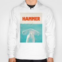 Hoodies featuring Hammer by Eric Fan