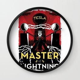 Master of Lightning Wall Clock