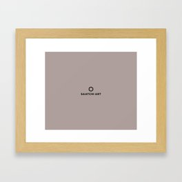 Saatchi Art Framed Art Print