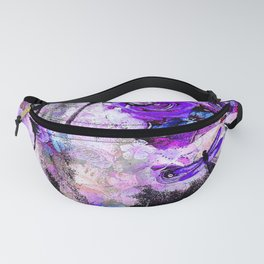 HORSE ROSES DRAGONFLY IMPRESSIONS Fanny Pack