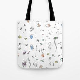 Eyes and Eyes (II) Tote Bag
