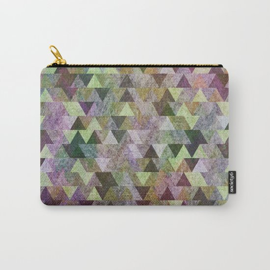 Geometric Pattern VIII Carry-All Pouch
