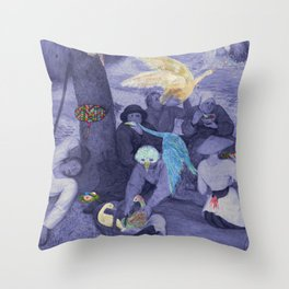 Gleaners and Dreamers Throw Pillow
