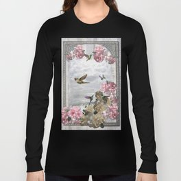 Vintage Artwork Long Sleeve T-shirt