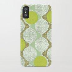 snaking around Slim Case iPhone X