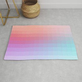 Lumen, Pink and Lilac Light Rug