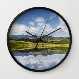 Morning Lakeside Wall Clock