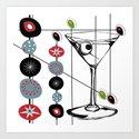 Mid-Century Modern Art Atomic Cocktail 3.0 by oldurbanfarmhouse