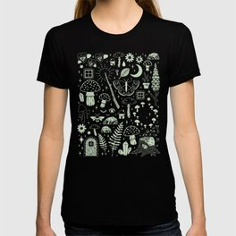 Fairy Garden: Midnight T-shirt