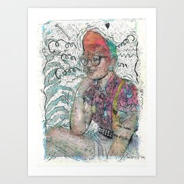 Autry Art Print