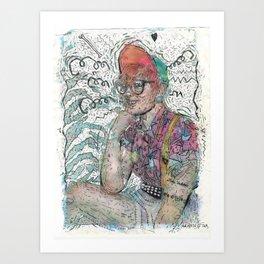 Autry Art Print