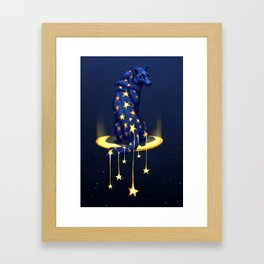 Star Drop Framed Art Print