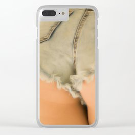 Short Shorts 304RR Clear iPhone Case