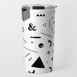 Geometry x Madness Travel Mug