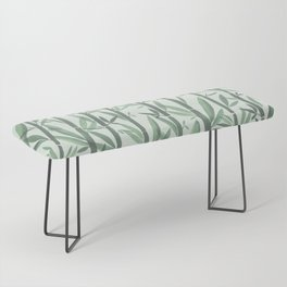 Bamboo Forest Watercolor Bench