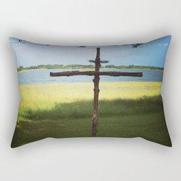 Love is all around us Rectangular Pillow