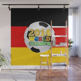 2014 World Champs - Germany Wall Mural
