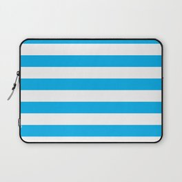 Blue Stripes Laptop Sleeve