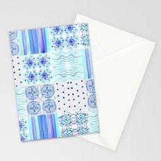 Amalfi Coast Tiles Stationery Cards