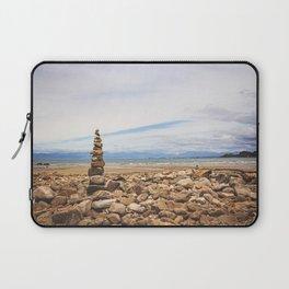 Coastal Cairn- New Zealand Laptop Sleeve