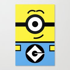 Minion Yellow Canvas Print