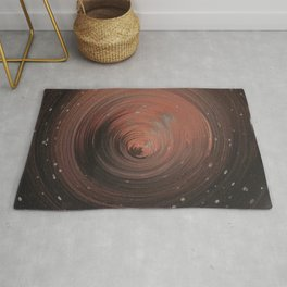 Copper Vortex Rug