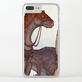 TRACKING DOGS Clear iPhone Case