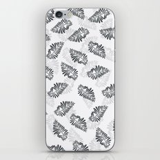 leaf floral pattern iPhone & iPod Skin