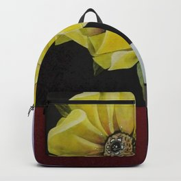 FLOR A CUADROS Backpack