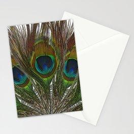 Peacock Feather Mandala 1 Stationery Cards