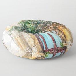 Trapani art 4 Floor Pillow