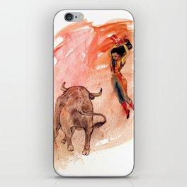 Bullfighter iPhone Skin